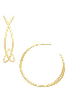 Main Image - gorjana Autumn Hoop Earrings