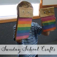 Sunday School Crafts: Joseph & the Coat of Many Colors - Blessings Overflowing