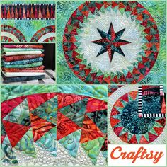 """Sign up for this amazing Craftsy Class, and make this gorgeous """"Day Dream"""" yourself. http://www.craftsy.com/class/perfect-points-with-paper-piecing/9027?ext=Jacquelinede-Jonge_9027_F&utm_source=Jacqueline%20de%20Jonge&utm_medium=Instructor&utm_campaign=General-Course%20Activity&initialPage=true"""