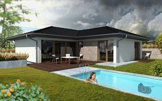 Návrh rodinného domu Zenit od APEX ARCH s.r.o. Mansions, House Styles, Outdoor Decor, Home Decor, Decoration Home, Manor Houses, Room Decor, Villas, Mansion