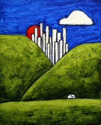 city country landscape
