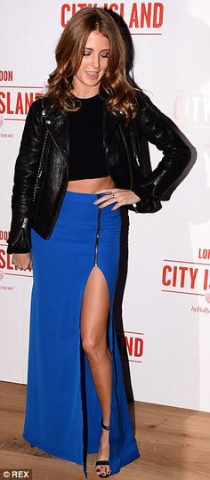 Former Made In Chelsea ladies on the loose: Kimberley Garney and Millie Mackintosh both fl...