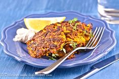 Carrot and Coriander Fritters - a deliciously simple vegetarian recipe with carrots in the starring role. Vegetarian Recipes Dinner, Vegetarian Cooking, Veggie Recipes, Paleo Recipes, Dinner Recipes, Drink Recipes, Easy Recipes, Healthy Recipes For Weight Loss, Good Healthy Recipes