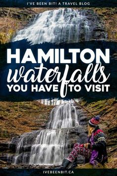 It's called the city of waterfalls for a reason! Don't be overwhelmed by the 120 waterfalls and check out this guide to the best waterfalls in Hamilton Ontario Canada! Waterfall hiking trails that you won't want to miss! Montezuma, Monteverde, Costa Rica, Places To Travel, Travel Destinations, Ontario Travel, Ontario Camping, Rv Camping, Viajes