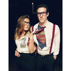 Clark Kent and Lois Lane Costumes.. with my lifelong ...