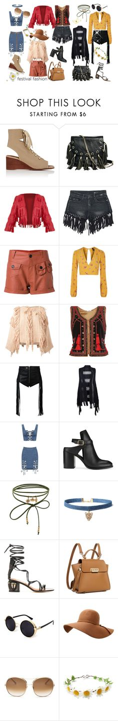 """Festival Fashion"" by tb-66 ❤ liked on Polyvore featuring Chloé, GUESS by Marciano, Sans Souci, Andrea Bogosian, Nobody's Child, Ulla Johnson, Vilshenko, Diesel, WearAll and Miss Selfridge"