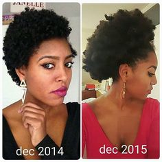 Learn how to grow your hair thicker & longer with DIY tips for treatment & remedies. How To Grow Natural Hair, Natural Hair Tips, Natural Hair Growth, Natural Hair Journey, Natural Hair Styles, Natural Hair Treatments, Going Natural, Natural Beauty, Protective Hairstyles For Natural Hair