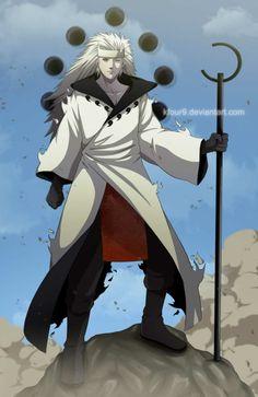 Mighty Madara Uchiha......The most powerful Uchiha in history!!!
