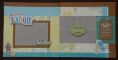 Scrappy Hour - Skylark Layout 2 with Complements