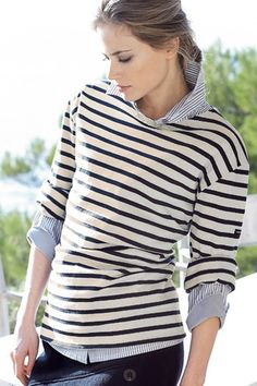 1000 images about saint james tee on pinterest saint for St james striped shirt