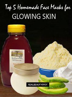 5-face-masks-glowing-skin