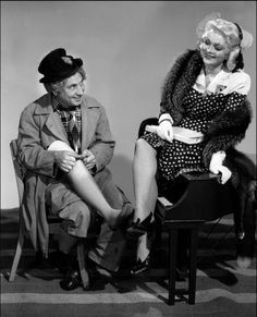 """Harpo Marx, from 1941's """"The Big Store"""". Harpo is my favorite Marx brother."""