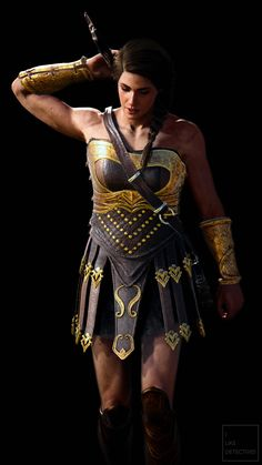 Assassins Creed Game, Assassins Creed Odyssey, Assasins Cred, Mandalorian Armor, Funny Phone Wallpaper, Female Armor, God Of War, Madame, Game Character