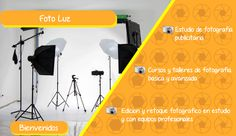 """Pieza grafica del estudio fotográfico """"Foto Luz"""" en donde se detecto oportunidad de estrategia digital"""