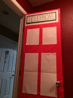 Rainbow superhero rescue hero birthday party. Telephone booth decor on door for superhero transformation. Had lots of adults at a toddler party so had them race the clock & transform out of their disguise (tie, mustache, glasses) into a superhero (cape, mask, wristbands). They loved it!
