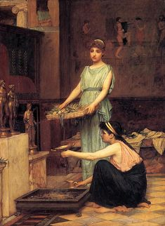 John William Waterhouse: Cautivado por la mitología griega - Taringa!