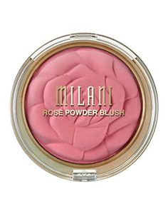 Rose Powder Blush by Milani Cosmetics USA. An ultra silky-soft powder blush that delivers the perfect amount of color and easily blends onto cheeks. Hair And Makeup Tips, Hair And Nails, Beauty Makeup, Hair Tips, Hd Makeup, Makeup Stuff, Blush Makeup, Makeup Kit, Makeup Brush