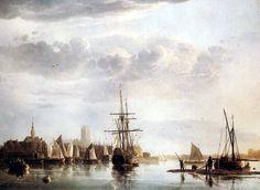Gezicht op Dordrecht (Albert Cuyp, 1655, Iveagh Bequest, Kenwood House, London)