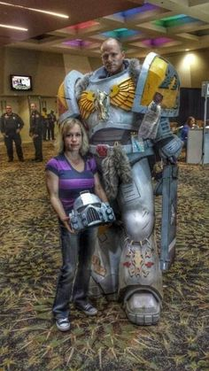 Comic Con Costumes, Cosplay Costumes, Fantasy Play, Fantasy Art, Space Marine, Warhammer 40k Space Wolves, Science Fiction Art, Warhammer 40000, Steampunk