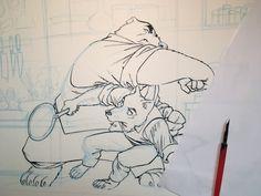 Décidément un ours mal léché... Jack Wolfgang - illustration en cours.  #graphicnovel #bandedessinée #wolf #loup  #digital #photoshop #jackwolfgang #secretagent #agentsecret  #henrirecule #artist #dessinateurBD #ink #encredechine #marqueur #feutre #character #illustration #scene #moment Moment, Novels, Photoshop, Fine Art, Gallery, Illustration, Happy, India Ink, Marker