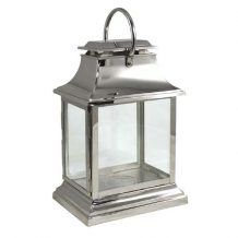 RECTANGULAR CHROME SILVER LANTERN FOR WEDDING OR PARTY DECOR   Candleholders Archives - Hire and Style | Hire and Style