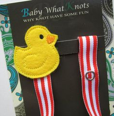 Hey, I found this really awesome Etsy listing at https://www.etsy.com/listing/160900257/rubber-duck-pacifier-clip-ducky-pacifier