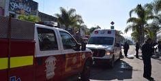 Bomberos, Policía Municipal y Cruz Roja rescataron a una persona con crisis emocional.