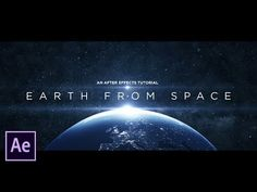 Create Earth From Space | After Effects Tutorial - YouTube