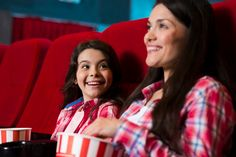 Mother with daughter in cinema Photo Free Stock Photos, Free Photos, Photo Editing, Cinema, Daughter, Photoshop, Movie Theater, Movies, Cinematography