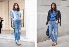 Q&A: How to Wear a Denim Shirt (7 Different Ways) | Lena PenteadoLena Penteado