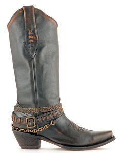 NEW! Womens Corral  Boots Chocolate And Cognac #C1055
