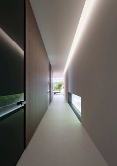 View full picture gallery of Piano House Corridor Lighting, Cove Lighting, Indirect Lighting, Interior Lighting, Lighting Design, Ceiling Lighting, Minimalist Architecture, Light Architecture, Minimalist Design