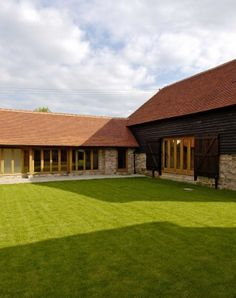 Description: To put the finishing touches to a stunning Grade II listed twin kiln Oast and separate Barn conversion, Metal Building Homes, Building A House, Build House, Log Home Plans, Barn Plans, Sussex Barn, East Sussex, Denmark House, Barn Conversion Interiors