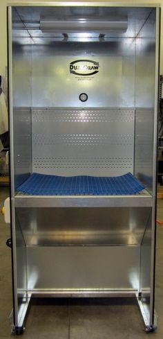 Downdraft Booths for Aluminum Dust  #Dualdraw.com