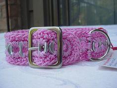 Pull Tab Crochet Dog Collar by Pop Top Lady, via Flickr