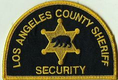 los angeles sheriff security guard patches | photo LosAngelesCountySheriffSecurity_zps65f4c5fd.jpg