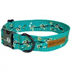 Dublin Dog EcoLucks Dog Collar - Cherry Blossom Hong Kong Seas. Eco friendly as…