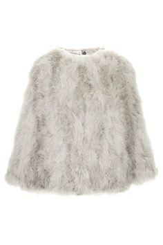 **Marabou Feather Jacket