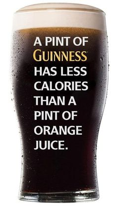 Drink more Guiness!