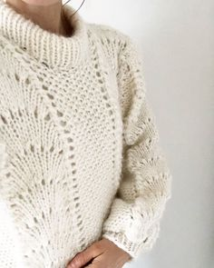 Made by Me: Nu kan vinterens kulde bare komme Gave, Knitting Sweaters, Knitted Shawls, Knitting Projects, Crochet, Pullover, Sewing, How To Wear, Inspiration