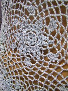 Crochet dress/beach dress coctail dress evening dress by LaimInga
