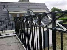 Afbeeldingsresultaat voor stalen balkonhek