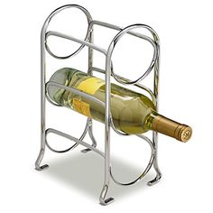 AXIS 3 BOTTLE CHROME WINE RACK