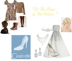 """""""Cinderella"""" from """"Into The Woods"""" by ginnybeth-gadd ❤ liked on Polyvore"""