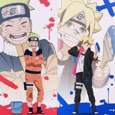 Naruto and Boruto ❤️❤️❤️