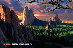 As one of the most visually stunning landscapes in the world, Garden of the Gods in Colorado Springs is a must-visit bucket list item. With its colorful rocks and dramatic landscape, it's truly a one-of-a-kind destination. Check out the timelapse video below to experience the Garden's true beauty.