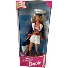 Nautical Outfits, Doll Closet, Vintage Barbie Dolls, Pretty Dolls, Star Shape, Antique Dolls, Cruise, Carnival, Cruises