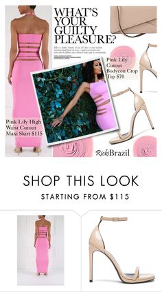 """""""Cutout Style"""" by pokadoll ❤ liked on Polyvore featuring Rituel de Fille, Yves Saint Laurent, Valextra and rickibrazil"""