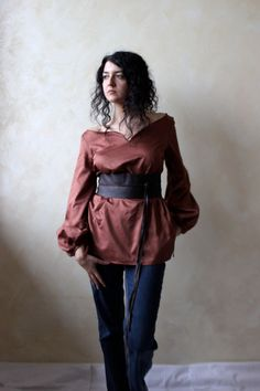 I struggle with finding medieval shirts that look good on me. I think this one would.