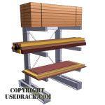 Buy Cantilever Racks - Updated pricing of new & used racking, pipe racks, steel racks, coil storage racks & lumber racks. Lumber Storage Rack, Lumber Rack, Steel Furniture, Industrial Furniture, Used Pallet Racking, Cantilever Racks, Minnesota, Pipe Rack, Used Pallets